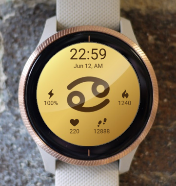 Garmin Watch Face - Cancer 2