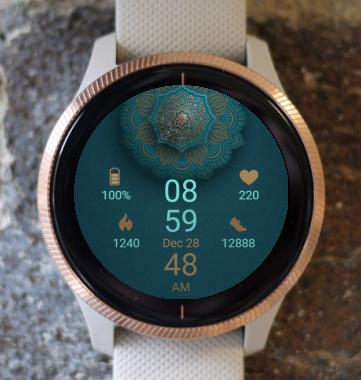 Garmin Watch Face - Mandala G6