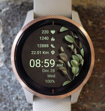 Garmin Watch Face - Nature