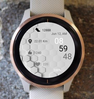 Garmin Watch Face - Hexagon