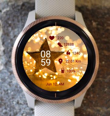 Garmin Watch Face - Christmas Star