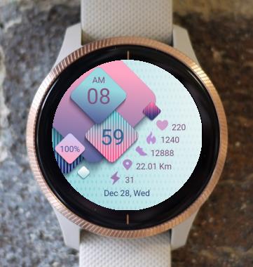 Garmin Watch Face - Geometry
