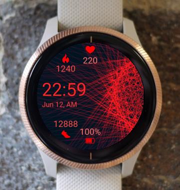 Garmin Watch Face - Firelight