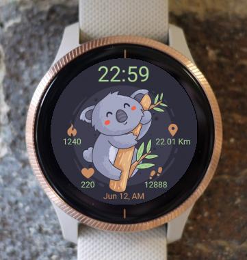Garmin Watch Face - Koala
