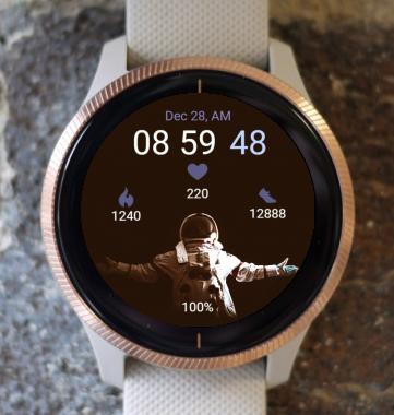 Garmin Watch Face - In Space